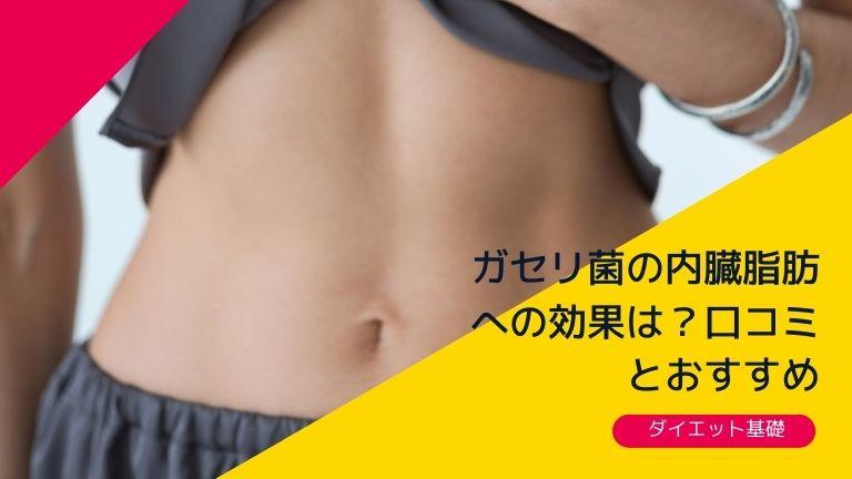 ガセリ菌の内臓脂肪への効果は?口コミ